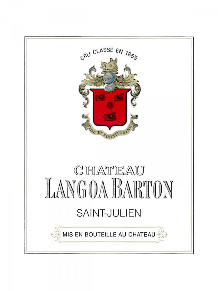 Château Langoa-Barton 2013 Caisse bois d'origine de 12 bouteilles (12x75cl)