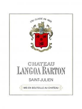 Château Langoa-Barton 2006 Caisse bois d'origine de 12 bouteilles (12x75cl)