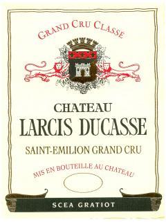 Château Larcis Ducasse 2013 Caisse bois d'origine de 6 bouteilles (6x75cl)