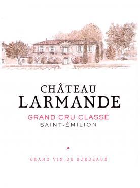 Château Larmande 2013 Caisse bois d'origine de 12 bouteilles (12x75cl)