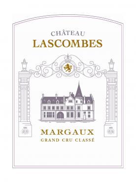 Château Lascombes 2015 Caisse bois d'origine de 12 bouteilles (12x75cl)