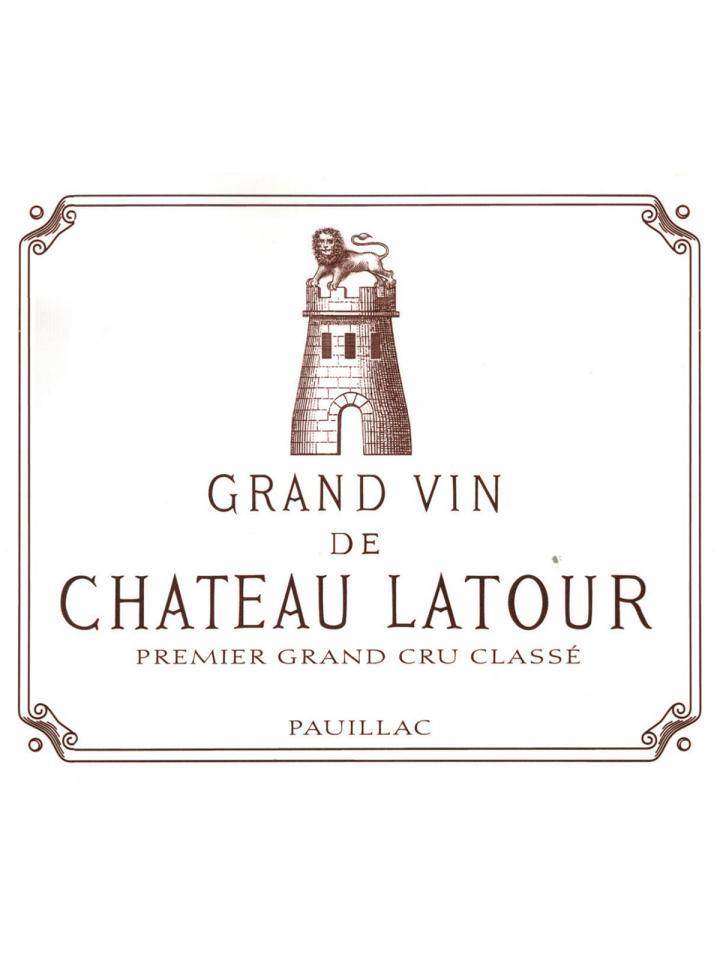 Château Latour 2006 Caisse bois d'origine de 6 bouteilles (6x75cl)