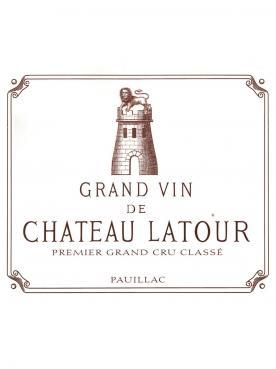 Château Latour 2000 Caisse bois d'origine de 12 bouteilles (12x75cl)