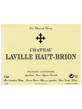 Château Laville Haut-Brion 2006 Caisse bois d'origine de 6 bouteilles (6x75cl)