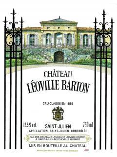 Château Léoville Barton 1999 Caisse bois d'origine de 12 bouteilles (12x75cl)