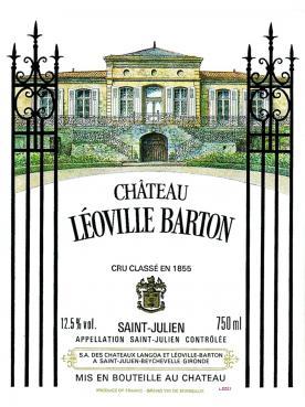 Château Léoville Barton 2014 Caisse bois d'origine de 6 bouteilles (6x75cl)