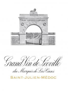 Château Léoville Las Cases 1997 Caisse bois d'origine de 12 bouteilles (12x75cl)