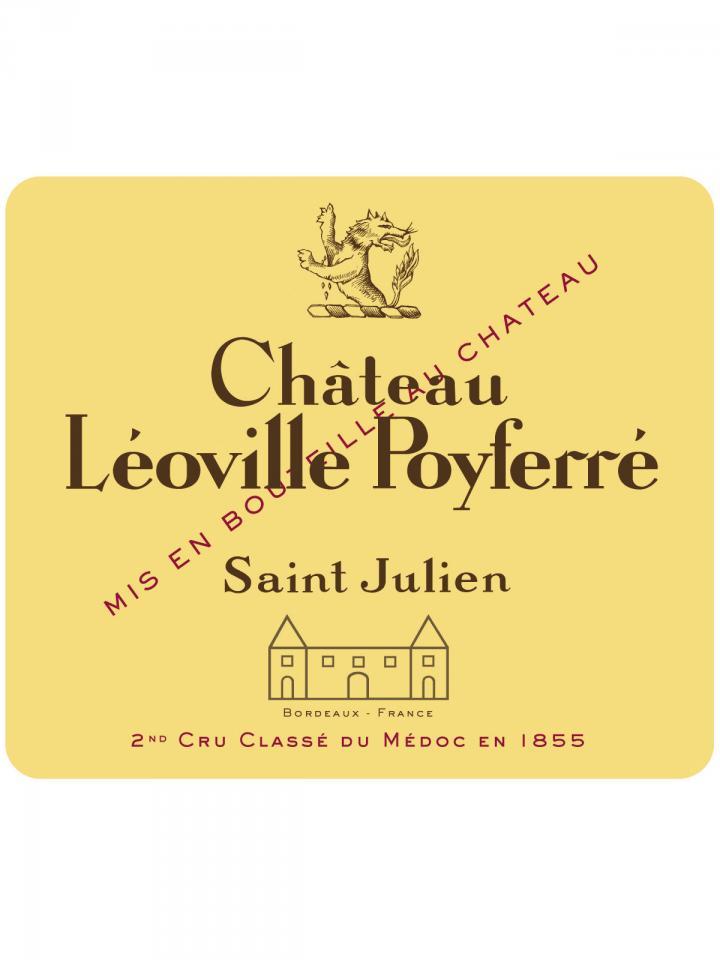 Château Léoville Poyferré 2009 Caisse bois d'origine de 12 bouteilles (12x75cl)