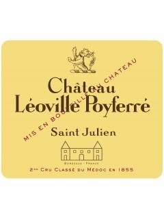 Château Léoville Poyferré 1991 Caisse bois d'origine de 12 bouteilles (12x75cl)