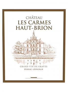 Château Les Carmes Haut-Brion 2012 Caisse bois d'origine de 12 bouteilles (12x75cl)