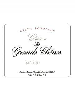 Château Les Grands Chênes 2011 Caisse bois d'origine de 12 bouteilles (12x75cl)