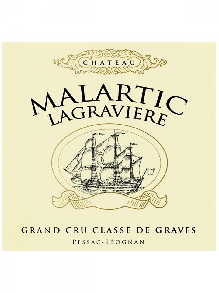 Château Malartic-Lagravière 2011 Caisse bois d'origine de 12 bouteilles (12x75cl)
