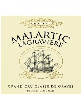 Château Malartic-Lagravière 2000 Caisse bois d'origine de 12 bouteilles (12x75cl)