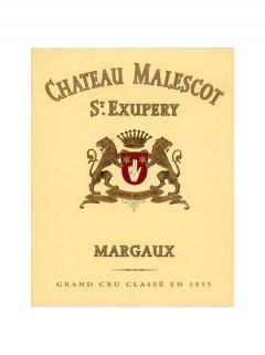 Château Malescot Saint Exupery 1987 Caisse bois d'origine de 6 magnums (6x150cl)
