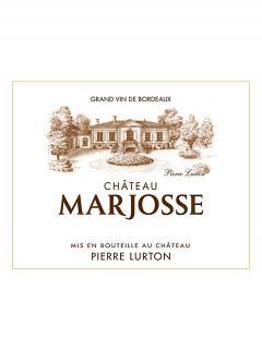 Château Marjosse 2014 12 bouteilles (12x75cl)