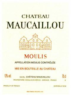 Château Maucaillou 2016 Caisse bois d'origine de 3 magnums (3x150cl)