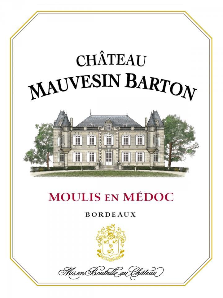 Château Mauvesin Barton 2012 Caisse bois d'origine de 12 bouteilles (12x75cl)