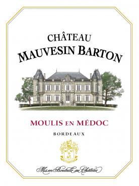 Château Mauvesin Barton 2015 Caisse bois d'origine de 12 bouteilles (12x75cl)
