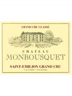 Château Monbousquet 2013 Caisse bois d'origine de 6 magnums (6x150cl)