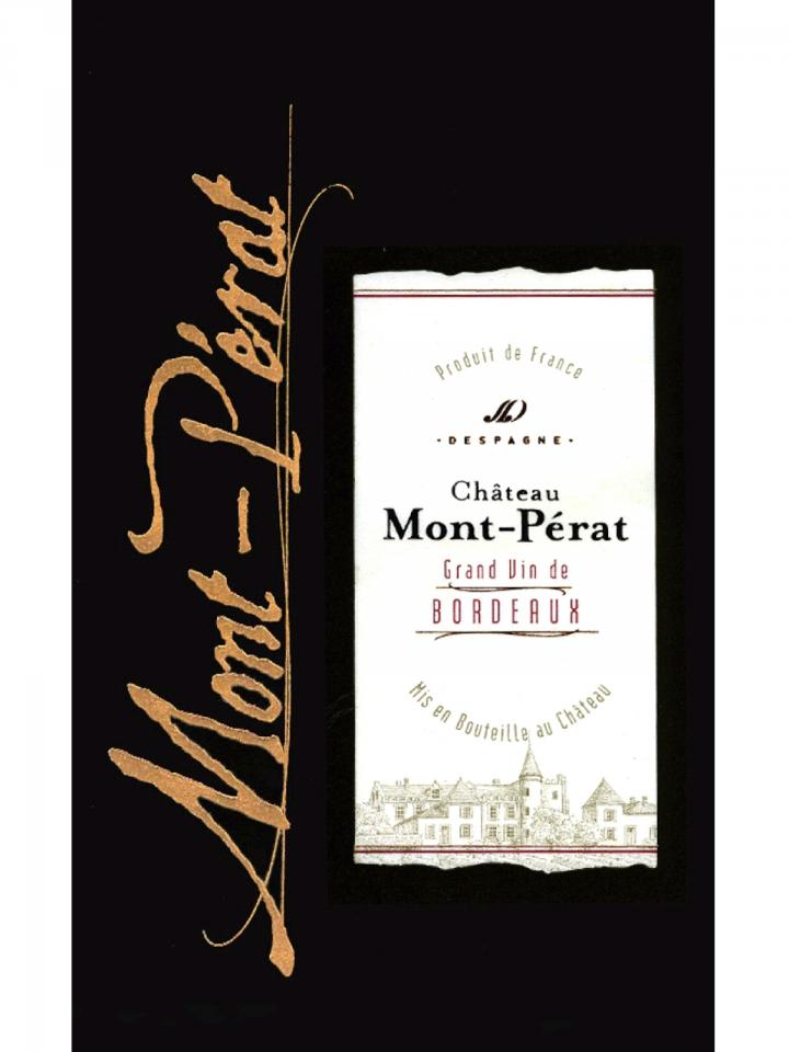 Château Mont-Pérat 2014 Caisse bois d'origine de 12 bouteilles (12x75cl)