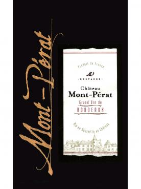 Château Mont-Pérat 2016 Caisse bois d'origine de 12 bouteilles (12x75cl)