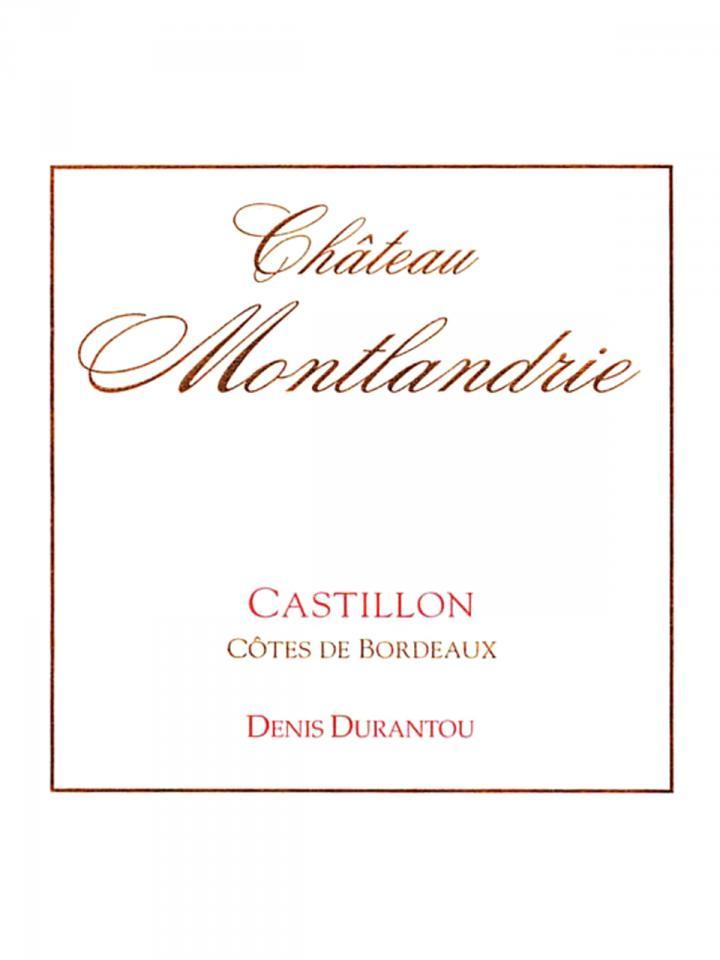 Château Montlandrie 2013 6 bouteilles (6x75cl)