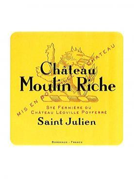 Château Moulin Riche 1993 Caisse bois d'origine de 12 bouteilles (12x75cl)