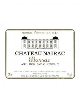 Château Nairac 2009 Caisse bois d'origine de 12 bouteilles (12x75cl)
