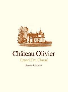 Château Olivier 2014 Caisse bois d'origine de 12 bouteilles (12x75cl)