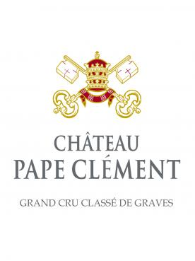 Château Pape Clément 2016 Caisse bois d'origine d'un salmanazar (1x900cl)