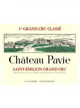Château Pavie 2013 Caisse bois d'origine de 6 bouteilles (6x75cl)