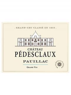 Château Pédesclaux 2013 Caisse bois d'origine de 3 magnums (3x150cl)
