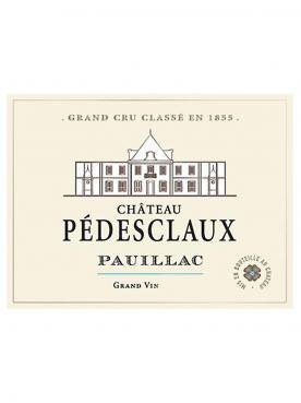 Château Pédesclaux 2013 Caisse bois d'origine de 6 bouteilles (6x75cl)