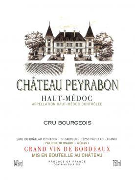 Château Peyrabon 2015 12 bouteilles (12x75cl)