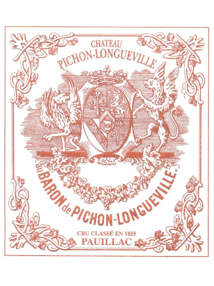 Château Pichon-Longueville Baron 2010 Caisse bois d'origine de 12 bouteilles (12x75cl)