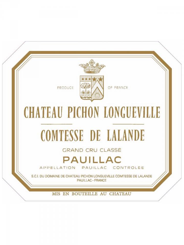 Château Pichon-Longueville Comtesse de Lalande 2010 Caisse bois d'origine de 12 bouteilles (12x75cl)