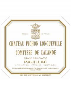 Château Pichon-Longueville Comtesse de Lalande 1987 Bouteille (75cl)