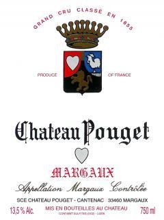 Château Pouget 1966 Bouteille (75cl)