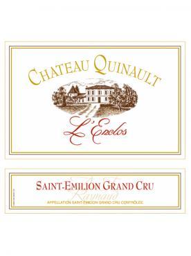 Château Quinault L'Enclos 2017 Caisse bois d'origine de 6 bouteilles (6x75cl)