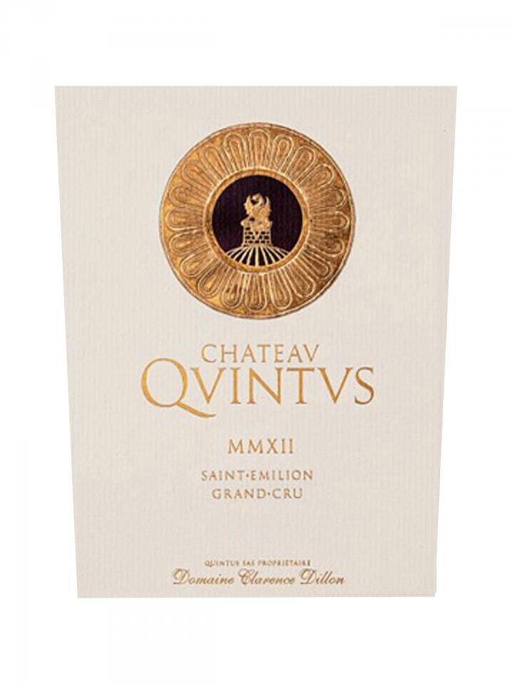 Château Quintus 2013 Caisse bois d'origine d'une bouteille (1x75cl)