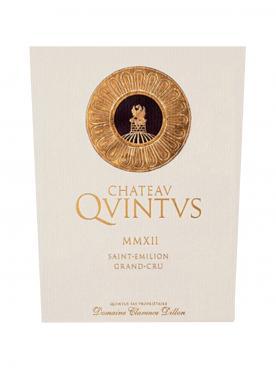 Château Quintus 2016 6 bouteilles (6x75cl)