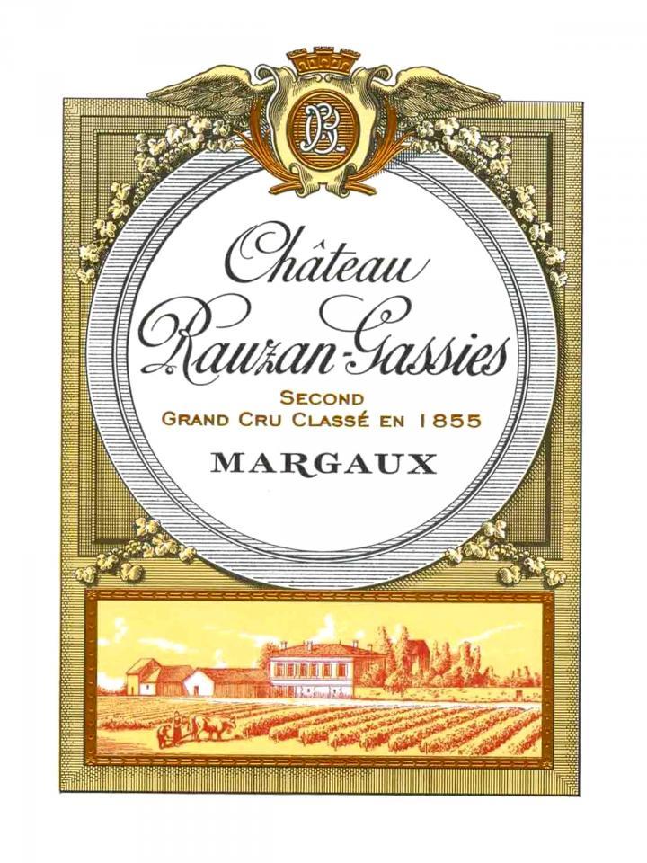 Château Rauzan-Gassies 1979 Bouteille (75cl)