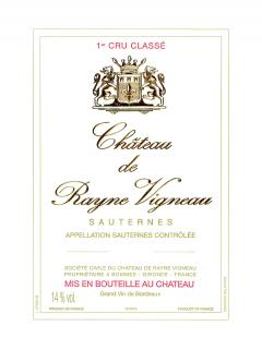 Château de Rayne Vigneau 2001 Caisse bois d'origine de 12 bouteilles (12x75cl)