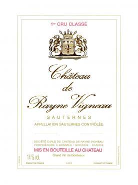 Château de Rayne Vigneau 2004 Caisse bois d'origine de 12 bouteilles (12x75cl)