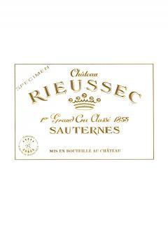 Château Rieussec 2007 Caisse bois d'origine de 12 bouteilles (12x75cl)