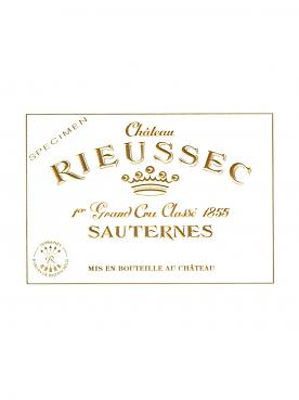Château Rieussec 2016 Caisse bois d'origine de 12 demi bouteilles (12x37.5cl)