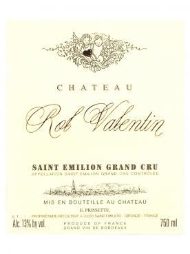 Château Rol Valentin 2014 Caisse bois d'origine de 6 bouteilles (6x75cl)