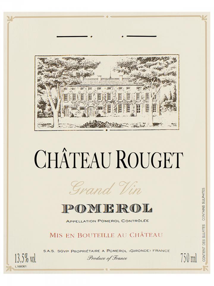 Château Rouget 2013 Caisse bois d'origine de 6 bouteilles (6x75cl)