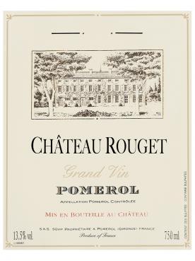 Château Rouget 2016 Caisse bois d'origine de 6 bouteilles (6x75cl)