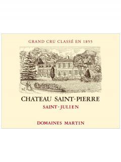 Château Saint-Pierre 2018 Caisse bois d'origine de 6 bouteilles (6x75cl)